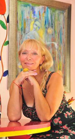 поэтесса и бард Ирина Маулер