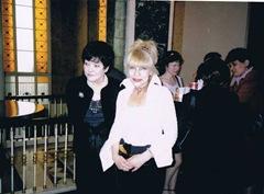 Инна Богачинская с Беллой Ахмадулиной