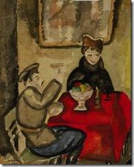 Сандро Фазини В кафе 1915 год