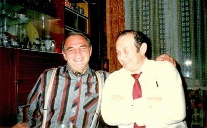 Yakov Kumok & S. Reznik 1988, Moscow