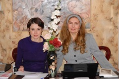 Наталья Лайдинен и Вера Зубарева